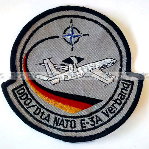 NATO AWACS Boeing E-3A Sentry DDO/DtA German Detachment Patch