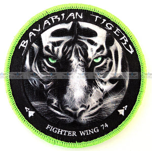 "BAVARIAN TIGERS ""Fighter Wing 74"" - 3D PATCH"