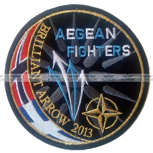 HELLENIC AIR FORCE AEGEAN FIGHTERS NATO BRILLIANT ARROW 2013