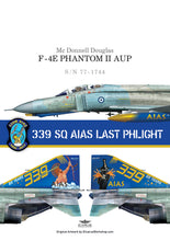 "Load image into Gallery viewer, 339 SQ AIAS ""LAST PHLIGHT "" DECALS"
