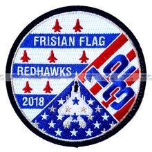 Load image into Gallery viewer, USAF air force ANG 123rd FIGHTER-SQN REDHAWKS FRISIAN FLAG EXERCICE 2018