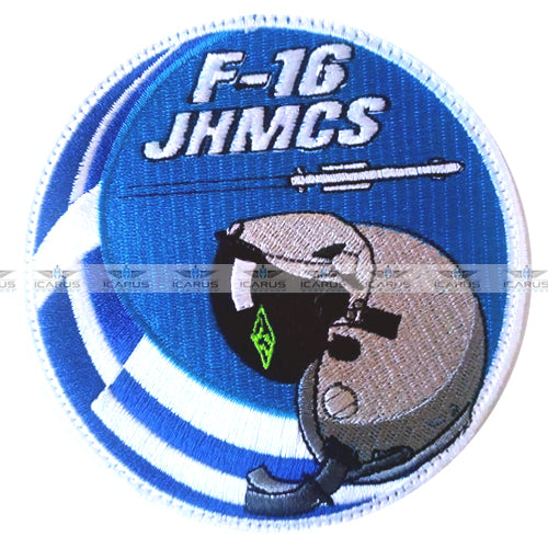 HELLENIC AIR FORCE F-16 JHMCS F-16 PILOT PATCH
