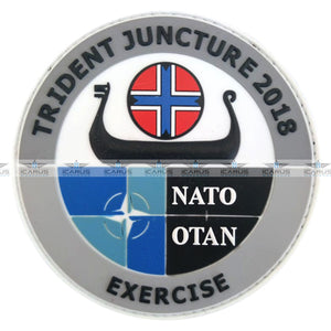NATO EXERCISE TRIDENT JUNCTURE 2018 - 3D PVC PATCH