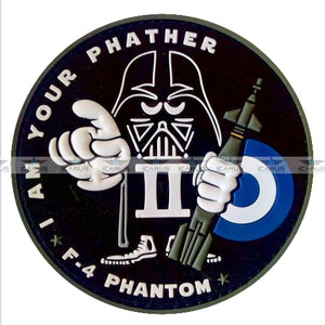 "NEW HAF F-4 PHANTOM II ""I AM YOUR PHATHER"" PVC PATCH"