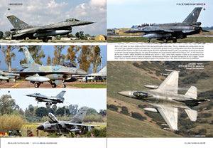 (LAST 3 BOOKS) F-16 FIGHTING FALCON: 30 YEARS IN HAF SERVICE