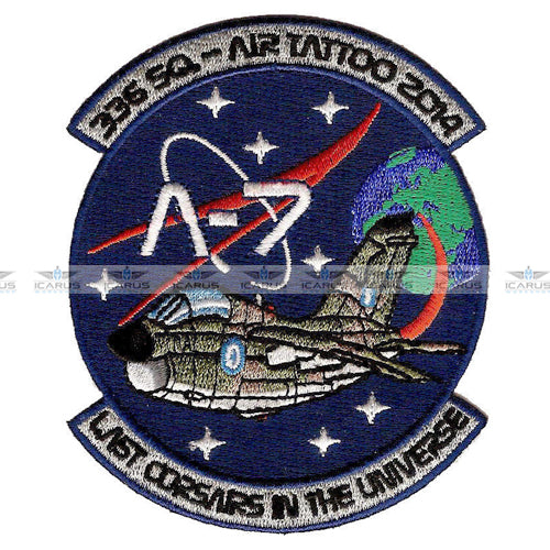 HELLENIC AIRFORCE 336 SQN A-7E CORSAIR AIR TATTOO 2014 PATCH (APS MADE)