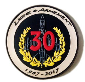 BELGIAN AIR FORCE LIGNE A ARMEMENT 30 YEARS BASE FLORENNES