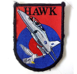 HAWK RAF PATCH