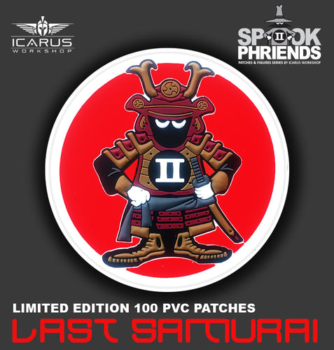 LAST SAMURAI SPOOK MASCOT PVC PATCH No 01/12