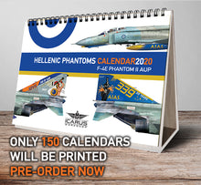 Load image into Gallery viewer, TABLE CALENDAR + WALL POSTER 2020 HAF PHANTOMS
