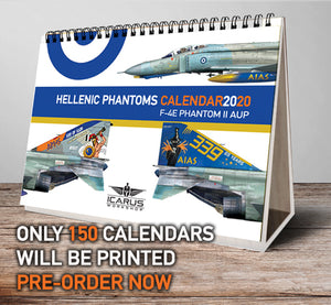 TABLE CALENDAR + WALL POSTER 2020 HAF PHANTOMS