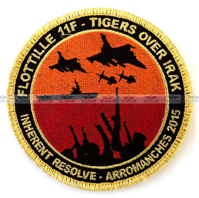 FLOTTTILLE 11F - TIGERS OVER IRAK-ARROMANCHES 2015