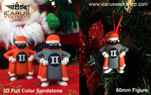 Load image into Gallery viewer, XMAS ORNAMENT SPOOK MASCOT 60mm 3D FULL COLOR SANDSTONE