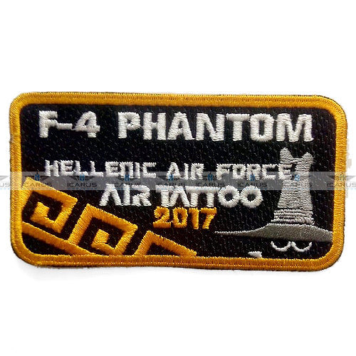 HELLENIC AIR FORCE 338SQN AIR TATTTOO 2017 F-4 PHANTOM PILOT PATCH