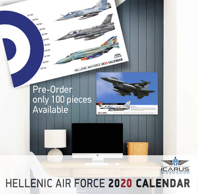 PRE-ORDER WALLPAPER CALENDAR 2020 HAF (12 PAGES+COVER)