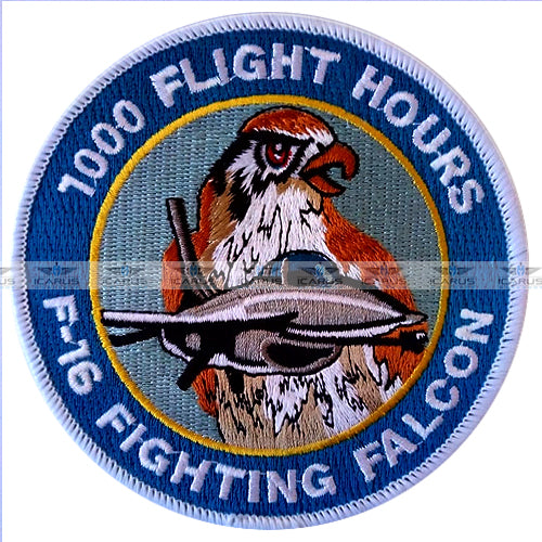 HELLENIC AIR FORCE F-16 FIGHTING FALCON 1000 FLIGHT HOURS