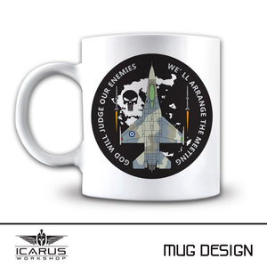 F-16 PUNISHER MUG