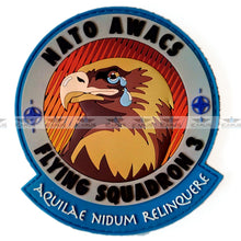 Load image into Gallery viewer, ORIGINAL AIR FORCE SQUADRON PILOT PATCH NATO AWACS 3 SQN DISBANDMENT