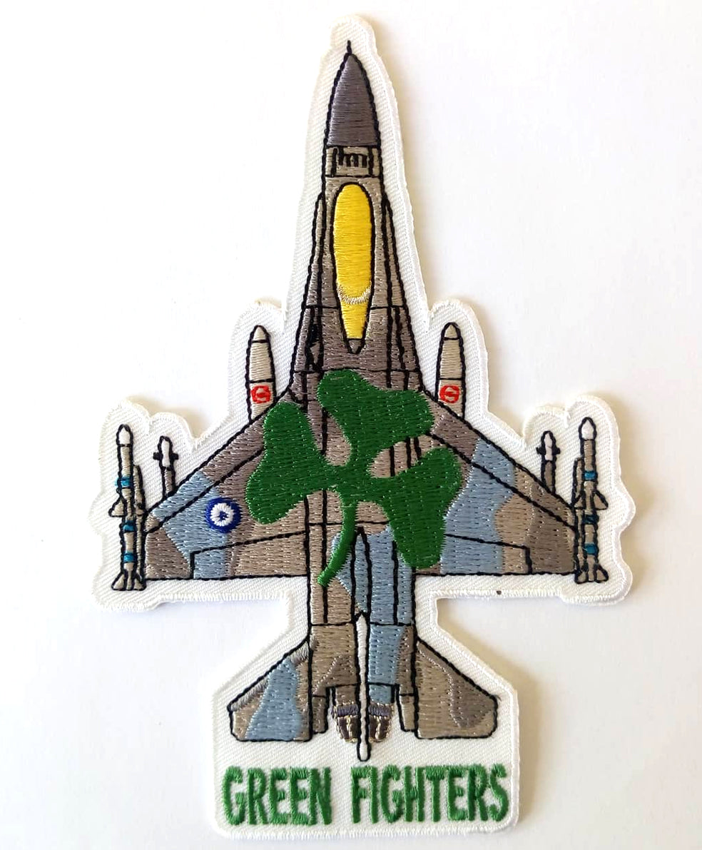 F-16 GREEN FIGHTERS (PANATHINAIKOS FC) SILHOUETTE PATCH