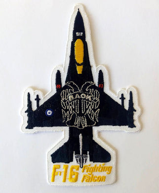 F-16 FIGHTING FALCON (PAOK FC) SILHOUETTE PATCH
