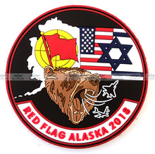 Load image into Gallery viewer, RED FLAG ALASKA 2018 PVC SET PATCHES