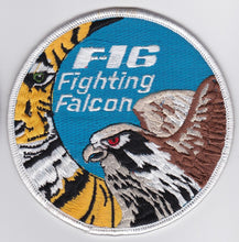 Load image into Gallery viewer, ORIGINAL RNLAF F-16 PILOT PATCH 313 Squadron Tiger 1991!