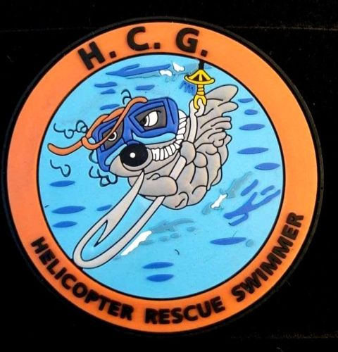 HELLENIC COAST GUARD HELICOPTER RESCUE SWIMMER #1