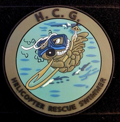 HELLENIC COAST GUARD HELICOPTER RESCUE SWIMMER #2