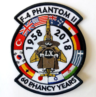 F-4 PHANTOM II 1958-2018 60 PHANCY YEARS