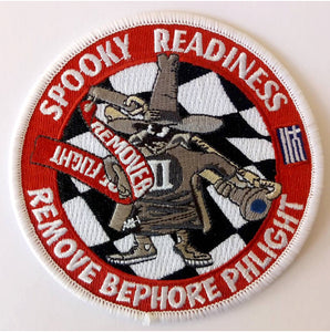 SPOOKY READINESS REMOVE BEFORE PHLIGT