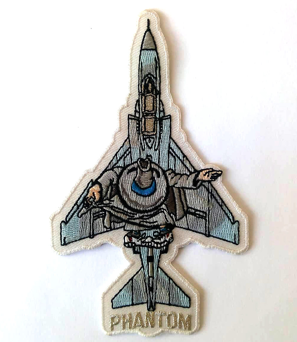 F-4 PHANTOM II SILHOUETTE  PATCH