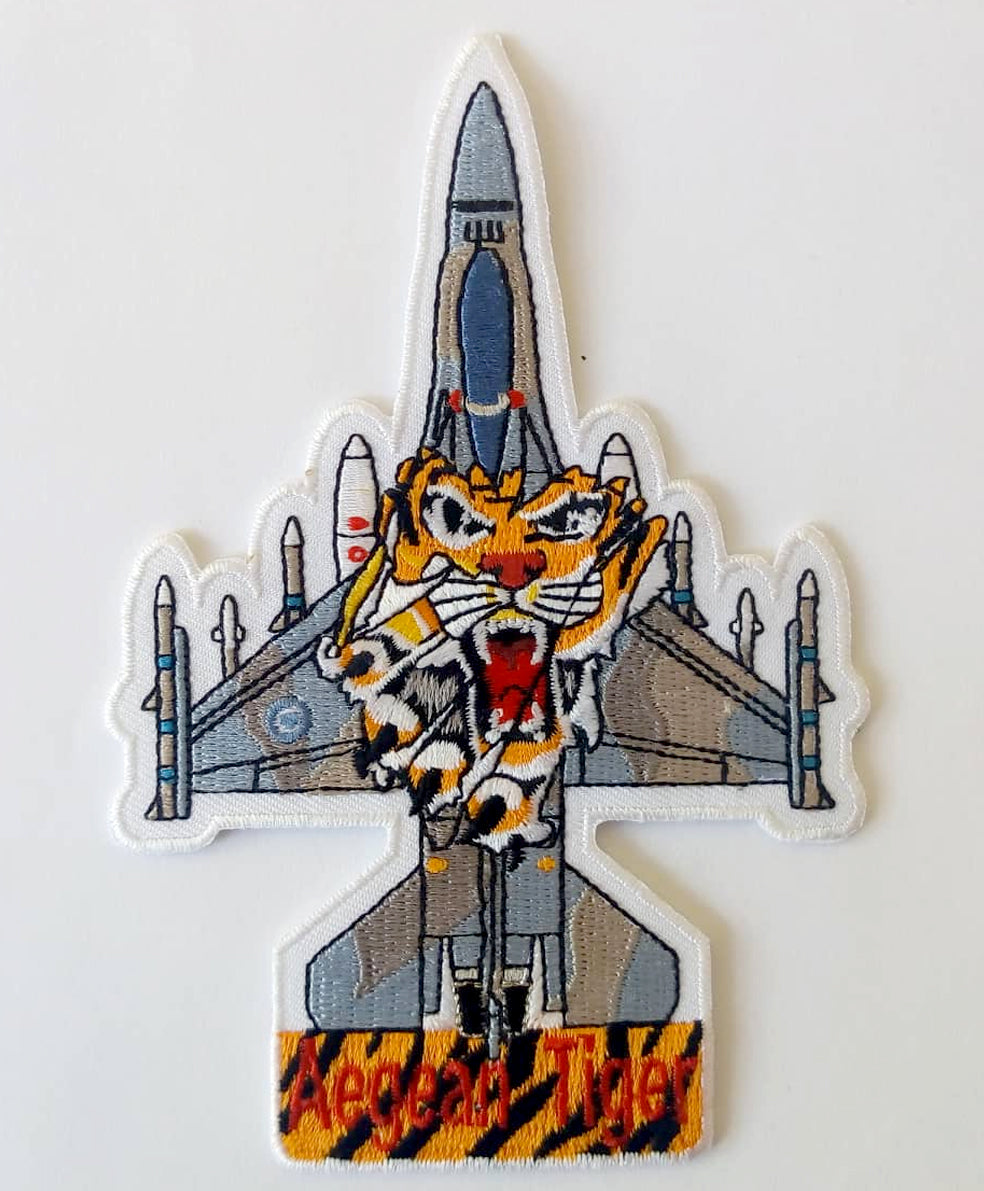 F-16 335M AEGEAN FIGHTERS SILHOUETTE PATCH