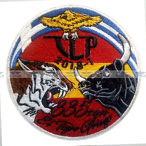 HELLENIC AIR FORCE TLP 2018-1 335SQN AEGEAN TIGERS PILOT PATCH
