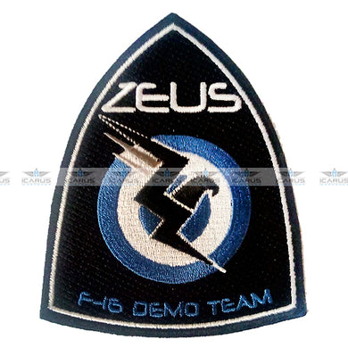 OFFICIAL F-16 DEMO TEAM ZEUS HELLENIC AIR FORCE #01