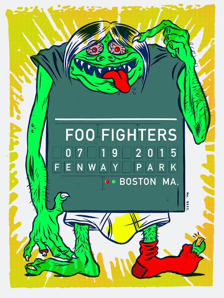 Foo Fighters - July 19th 2015 - Fenway Park