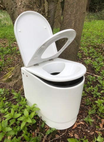 Compost toilet non stirring with bottle