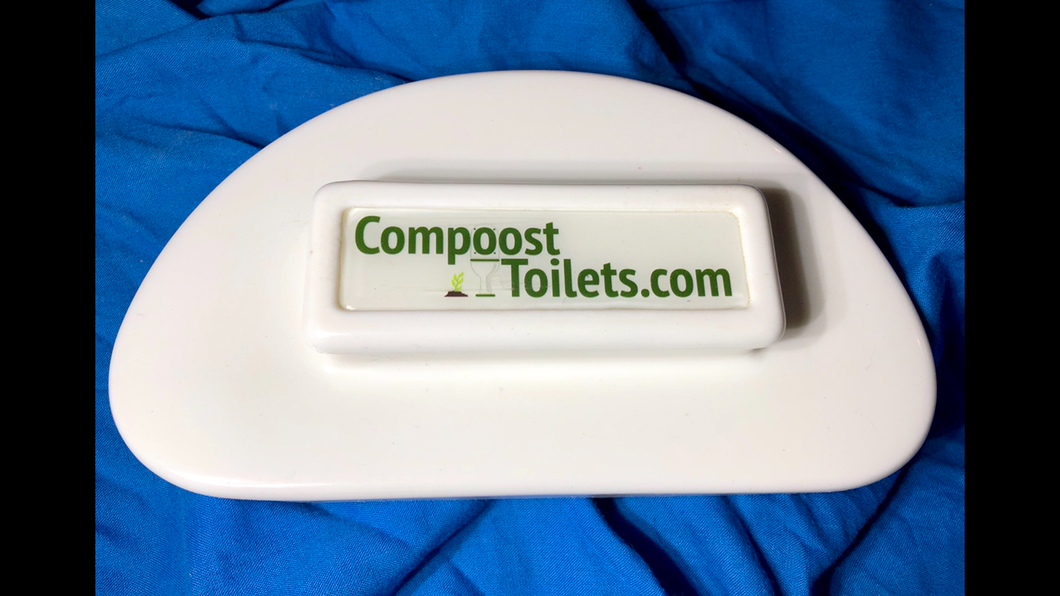 Compoost toilet modesty cover