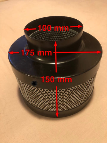 Carbon Filter 150mm high (same size as Foxes Afloat YouTube vlog)