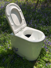 Load image into Gallery viewer, Long drop compost toilet with urine diverter