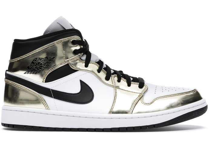"Available Now: Air Jordan 1 Mid SE ""Metallic Gold"""