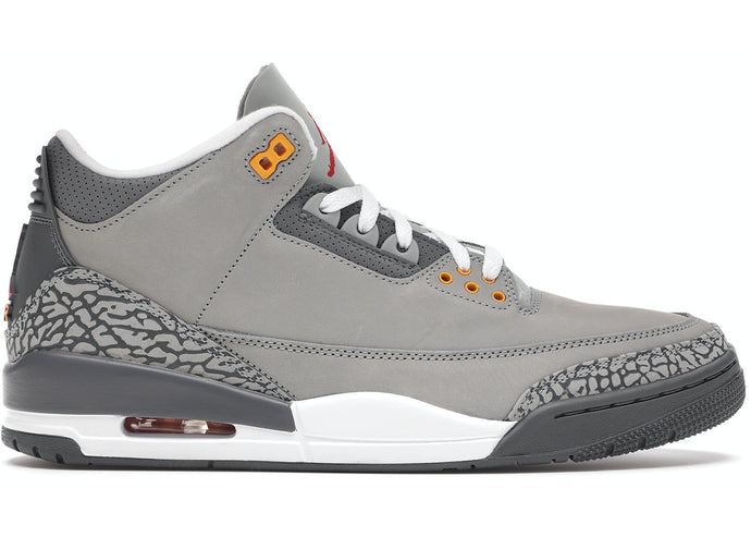 "Available Now: Air Jordan Retro 3 ""Cool Grey"""