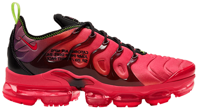 "Under Retail: Nike Air Vapormax Plus ""Laser Crimson"""