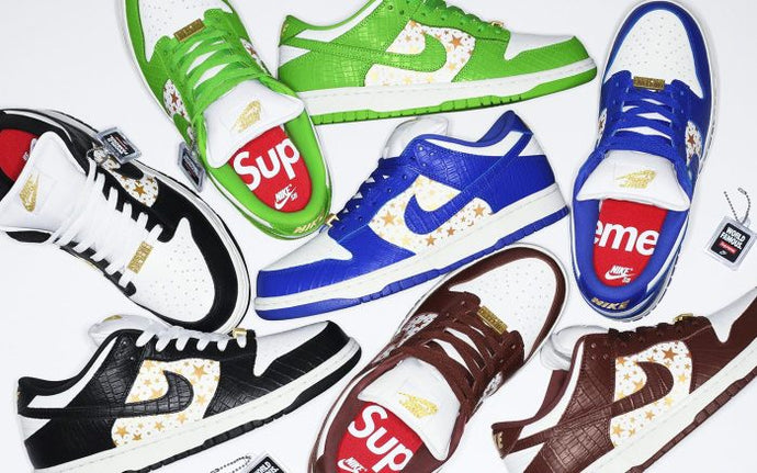 Available Now: Supreme x Nike SB Dunk Low