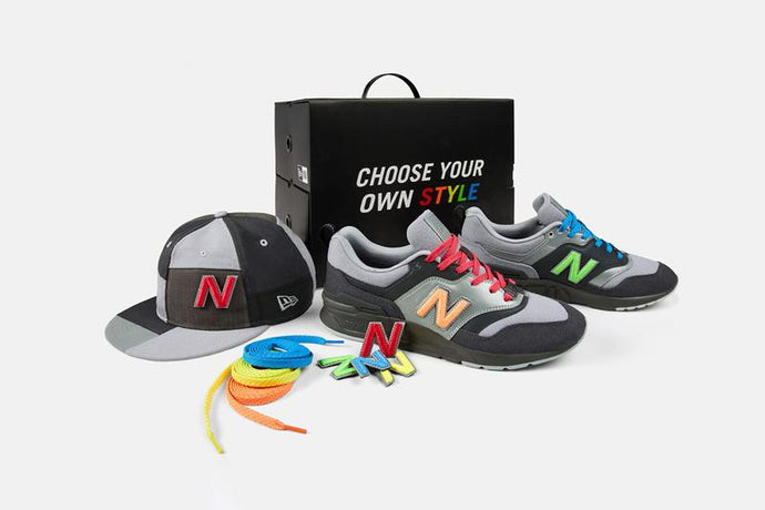 "Under Retail: New Era x New Balance 997H ""Custom Pack"""