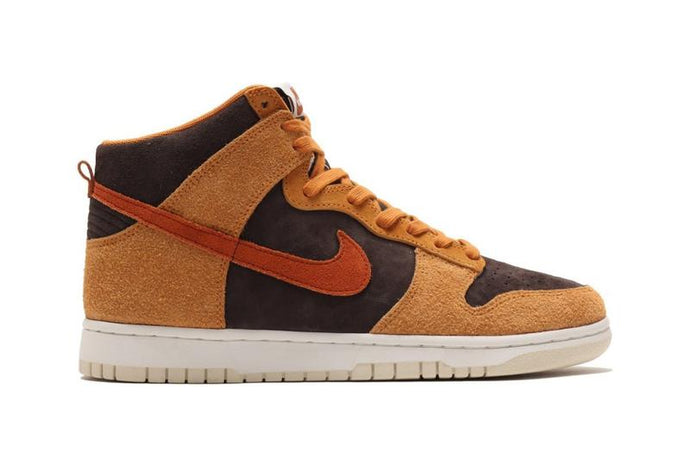 "Available Now: Nike Dunk High Premium ""Curry"""