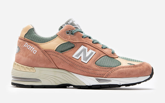 "Available Now: Patta x New Balance 991 ""Dusty Pink"""