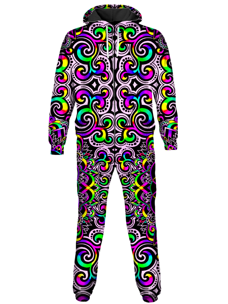 White Doodle Magic Onesie