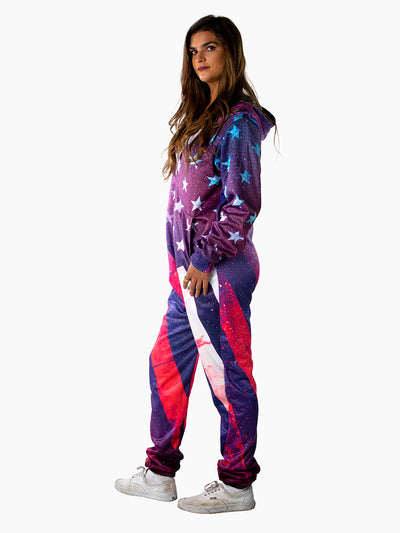 Galaxy Flag Onesie