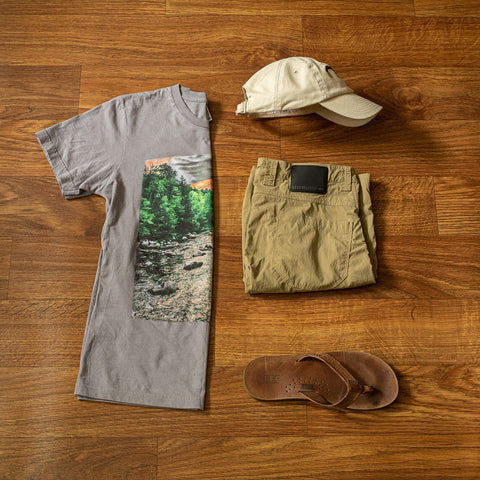 The river tee summer outfit