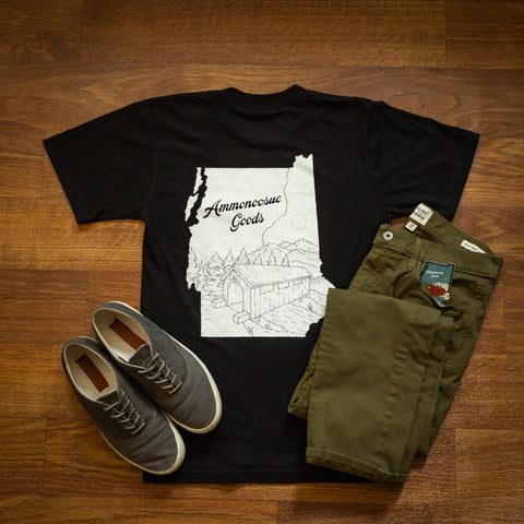 Ammonoosuc Goods Twin States Pocket T-shirt